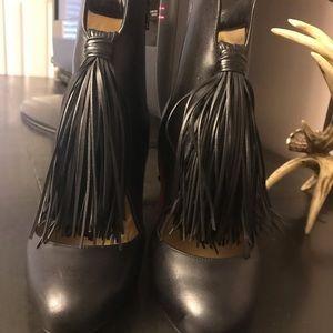 Christian Louboutin Shoes - 39.5  Christian LOUBOUTIN Christina tassel booties